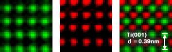 チタン酸ストロンチウム(SrTiO3)の原子カラムのSTEM-EELS分析