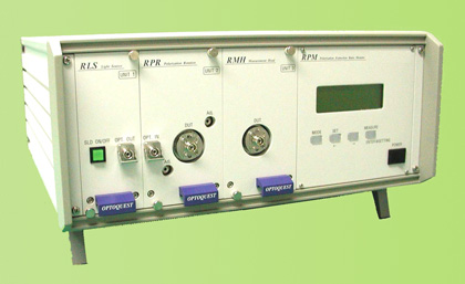 PMFパッチコード用偏光消光比モニタ