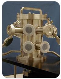 レーザープラズマX線源用チャンバー