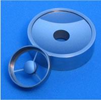 シュワルツシルト集光光学系用凹凸面鏡 (Mo/Si多層膜コーティング)