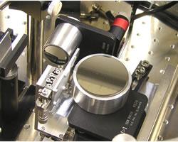 K-Bミラー集光システム測定系設置例