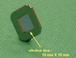 軟X線ビームスプリッタ例