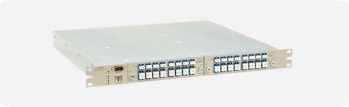 高密度収容光スイッチモジュール搭載例