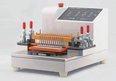 量産用光コネクタ研磨機