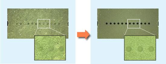 NEOCLEAN-Mの清掃性能